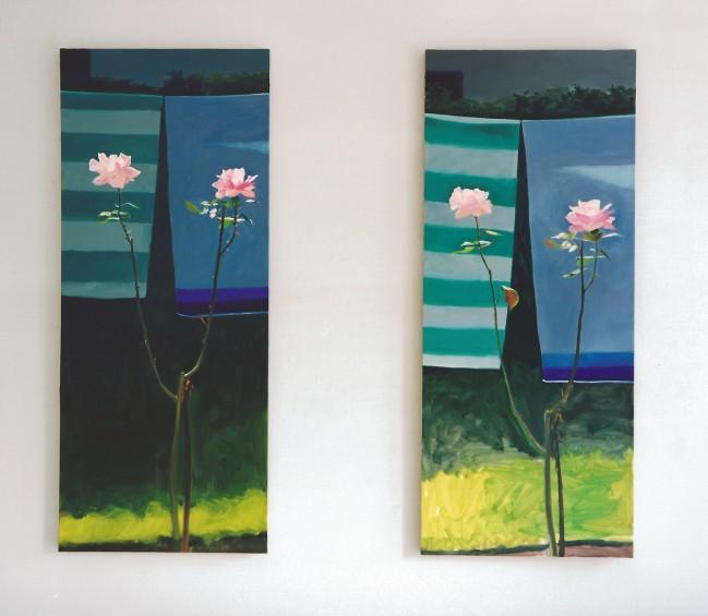 Münchner Rose 2 und Münchner Rose 1