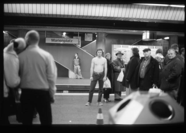 Dokumentation, Temporäres Atelier an der S-Bahnstation Marienplatz