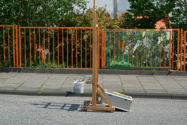 Dokumentation des Entstehungsortes, Abfallwirtschaftshof Kiel, Zaun III