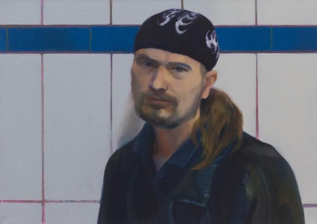 Mann mit Kopftuch (Björn)
