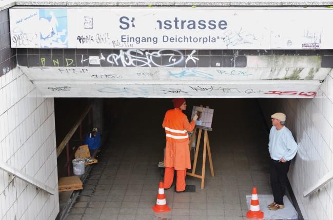 Modellsituation Steinstrasse