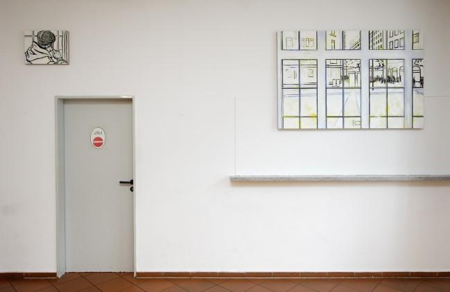 Installationsansicht 6, Grüße an R. R.