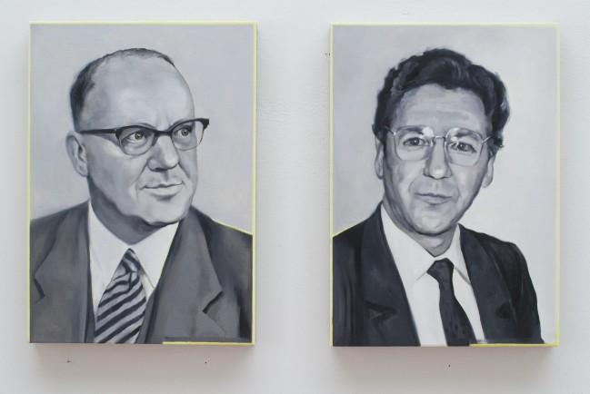 Grisaille 7 und 8 (Otto M. Schröder Bank)