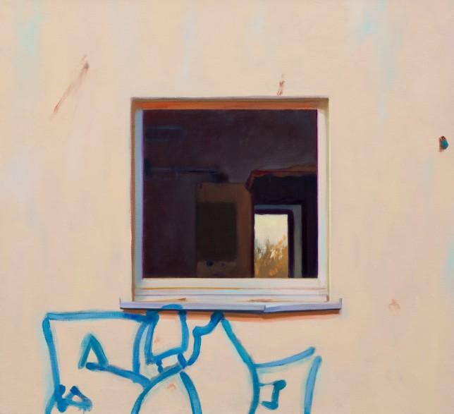 HLF 5 Fensterlos Graffiti